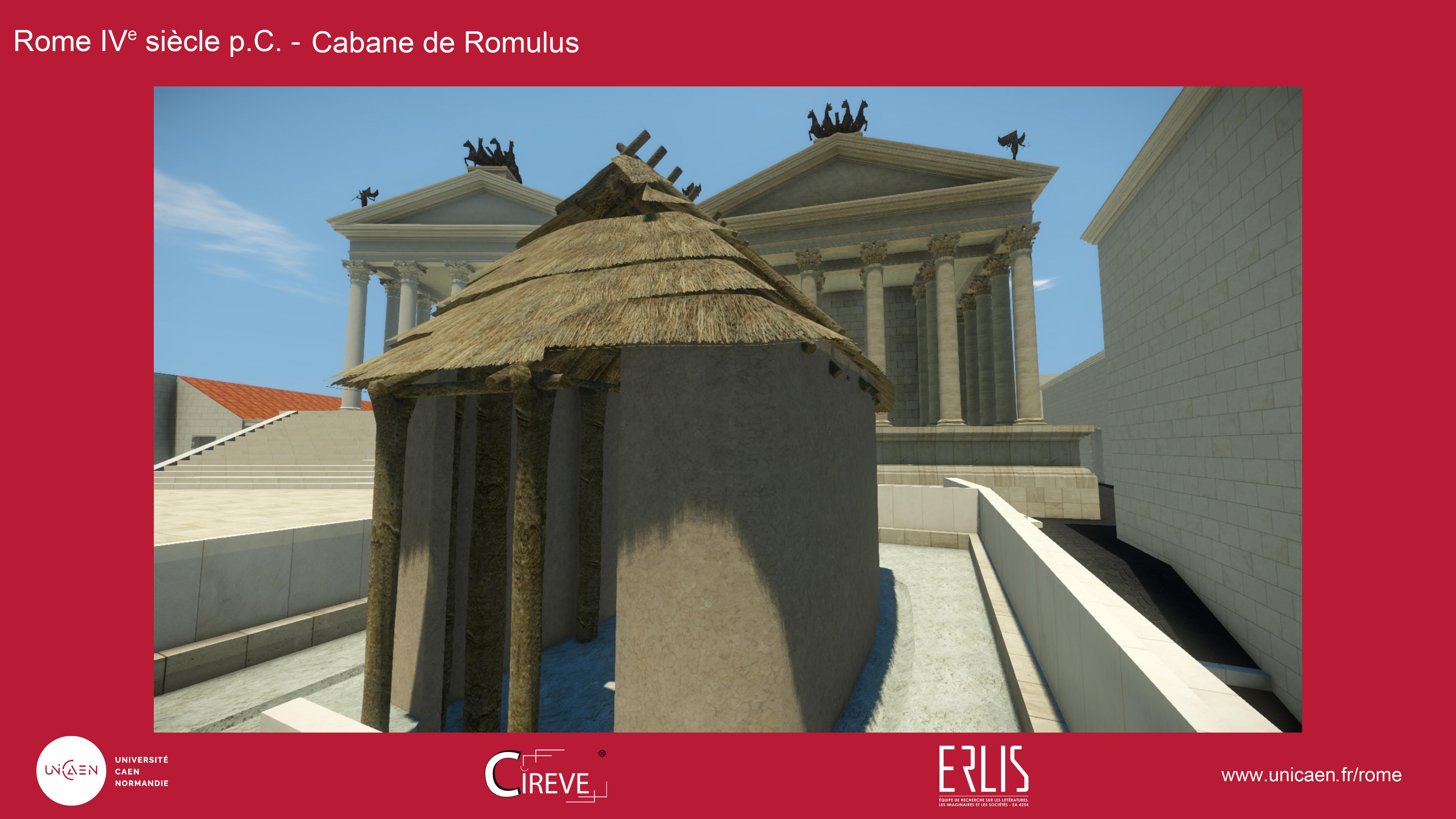 Cabane de Romulus