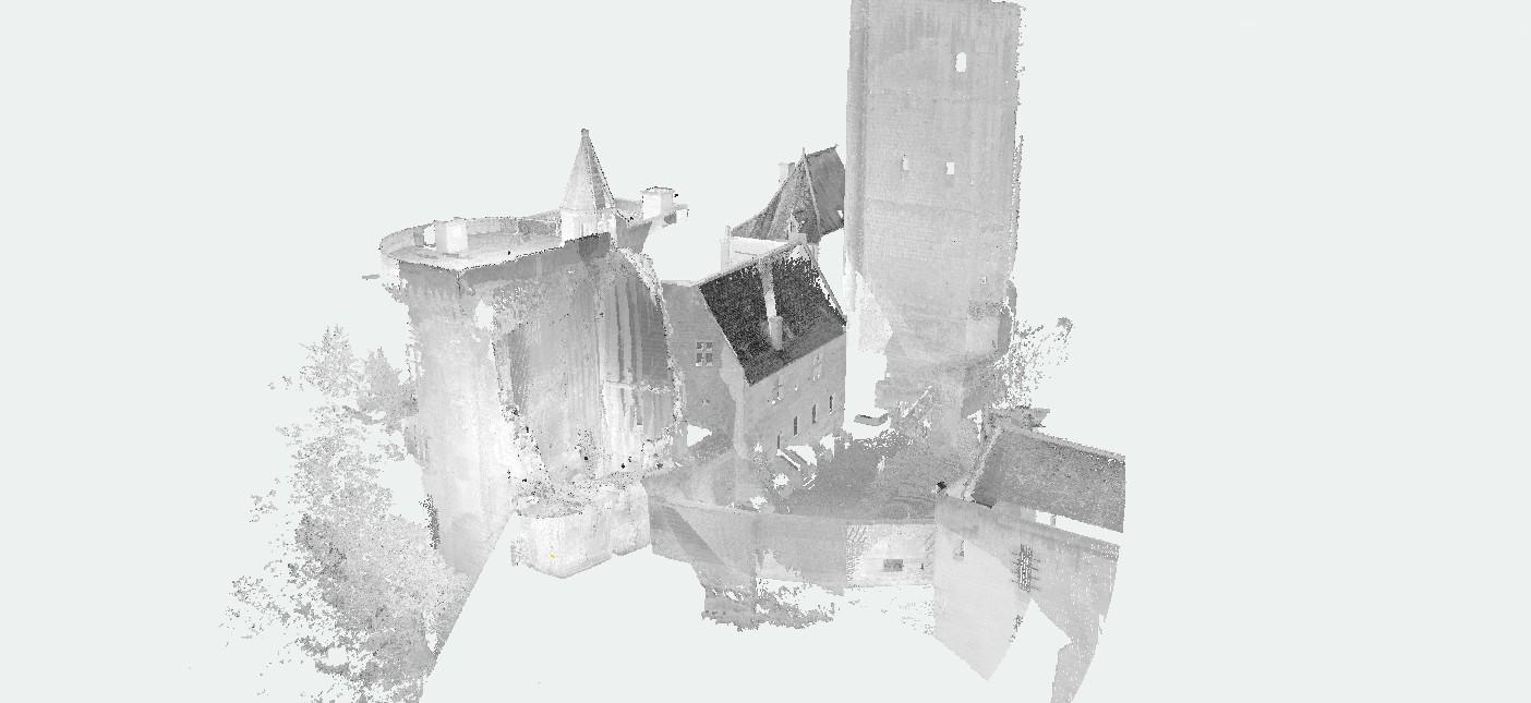 Donjon et Tour Louis XI de la citadelle de Loches