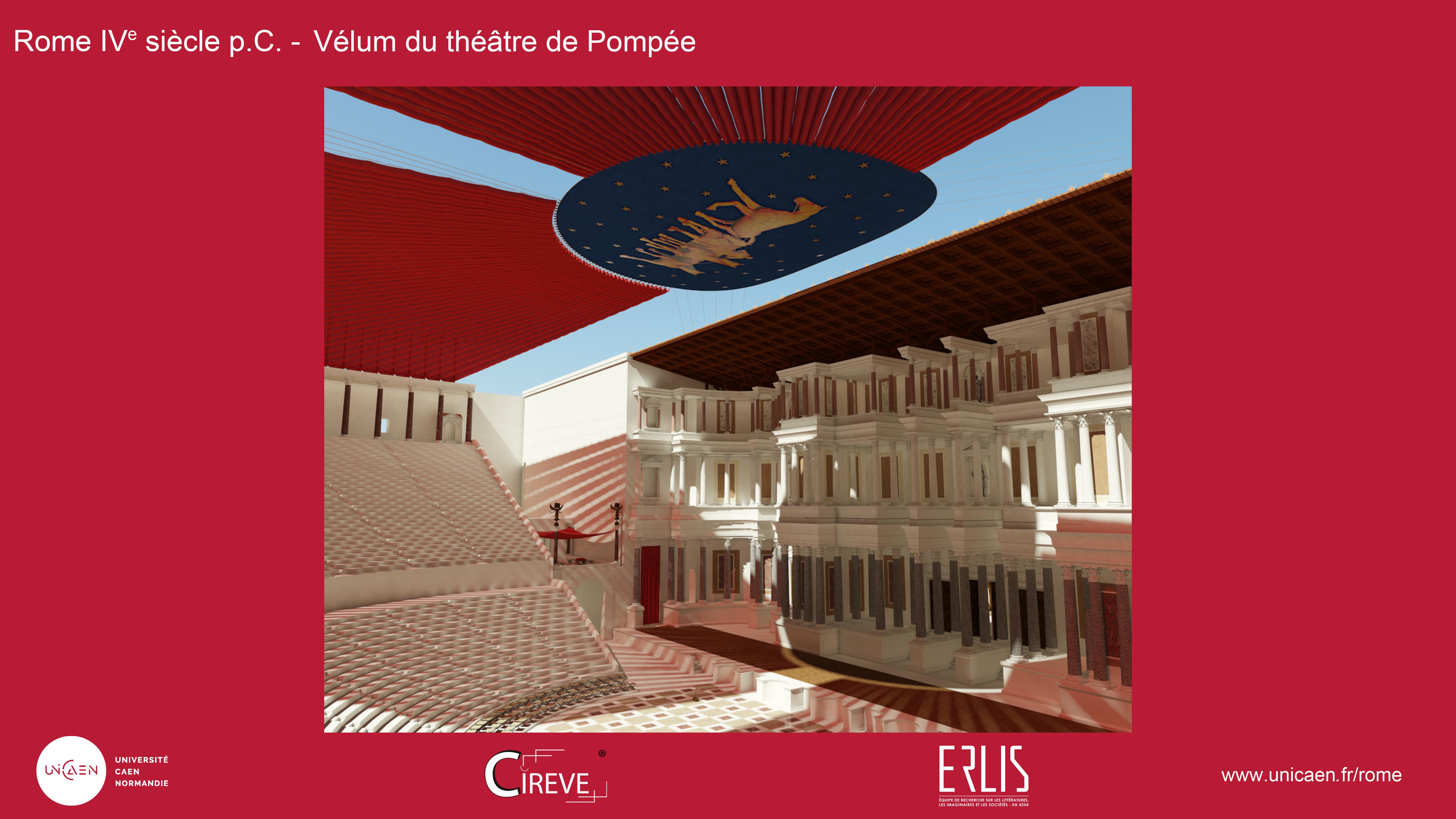 Vélum du théâtre de Pompée