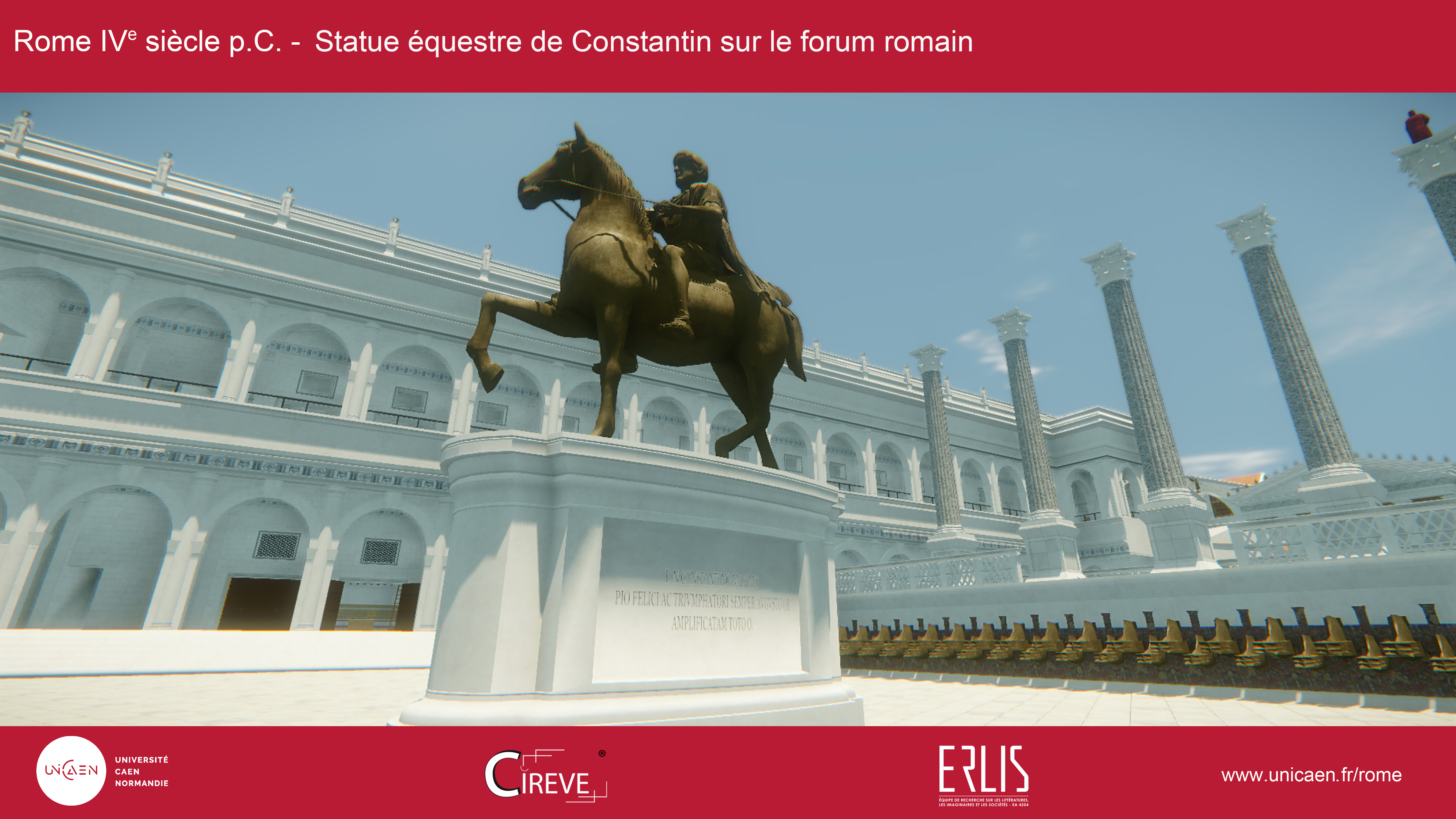 Statue équestre de Constantin