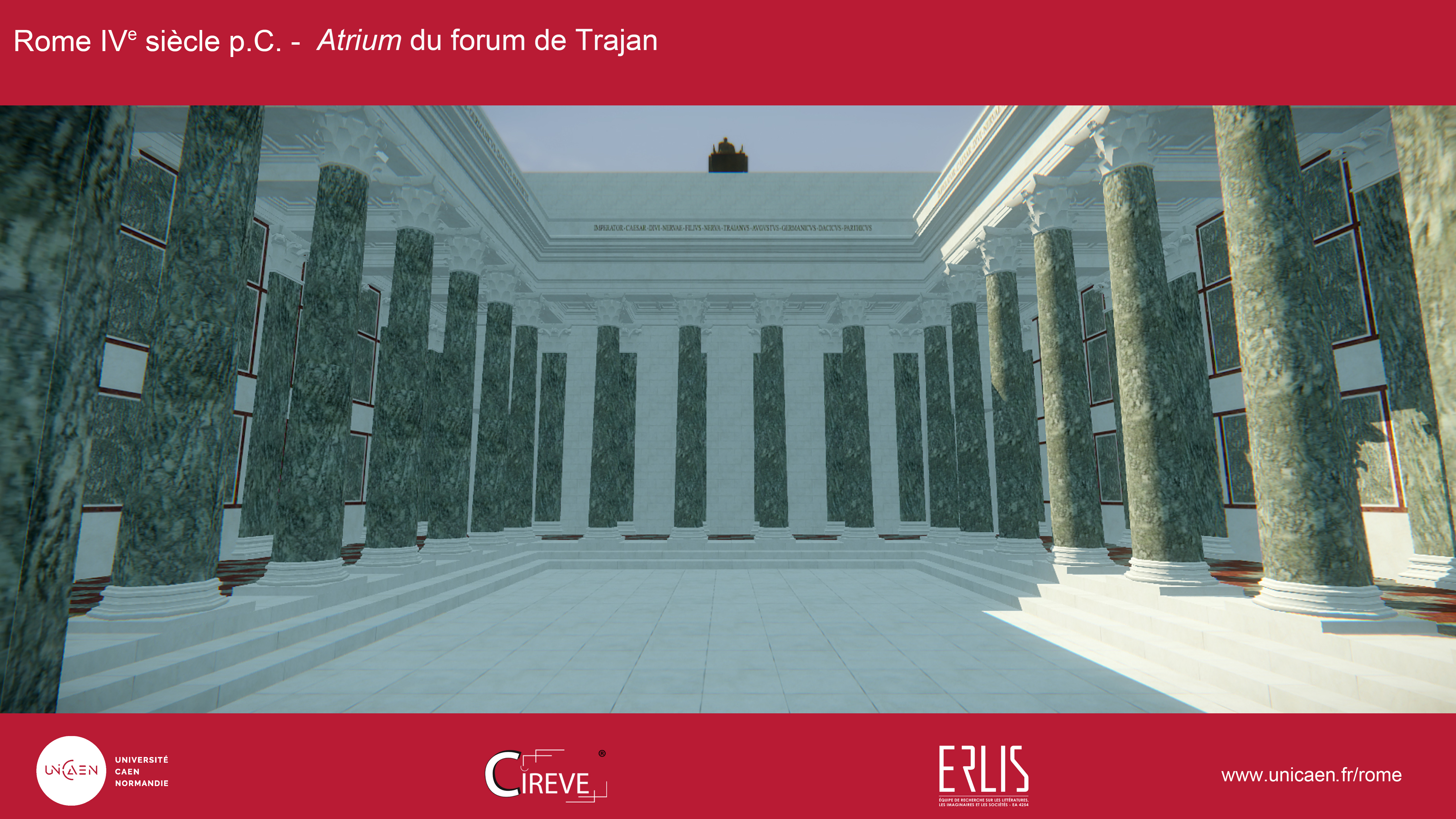 Atrium du forum de Trajan