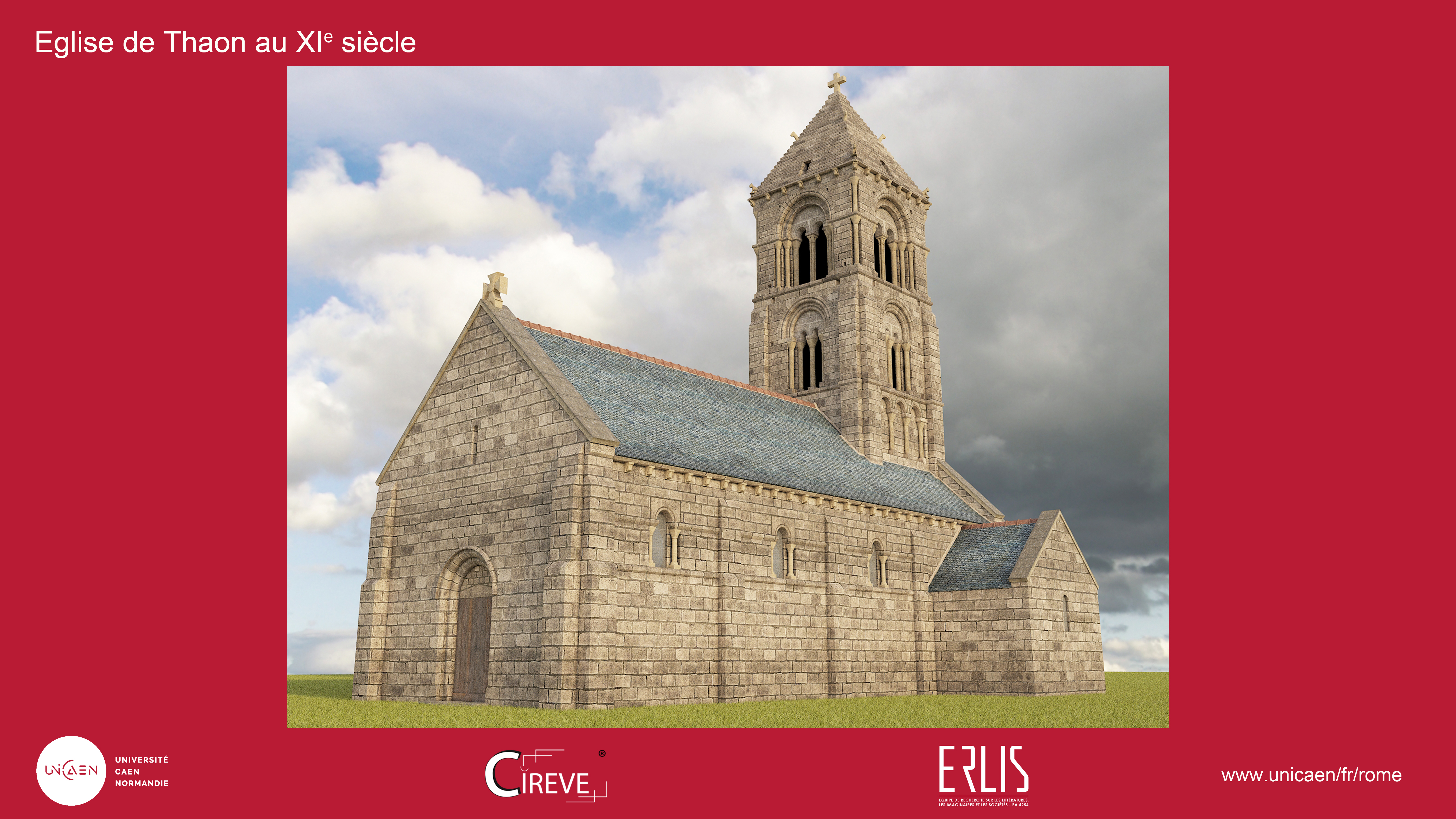 Eglise de Thaon au XIe siècle