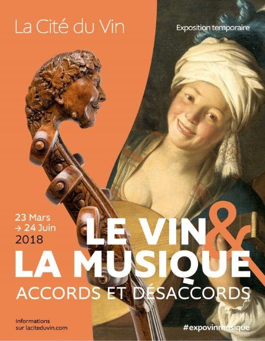 affiche vin et musique