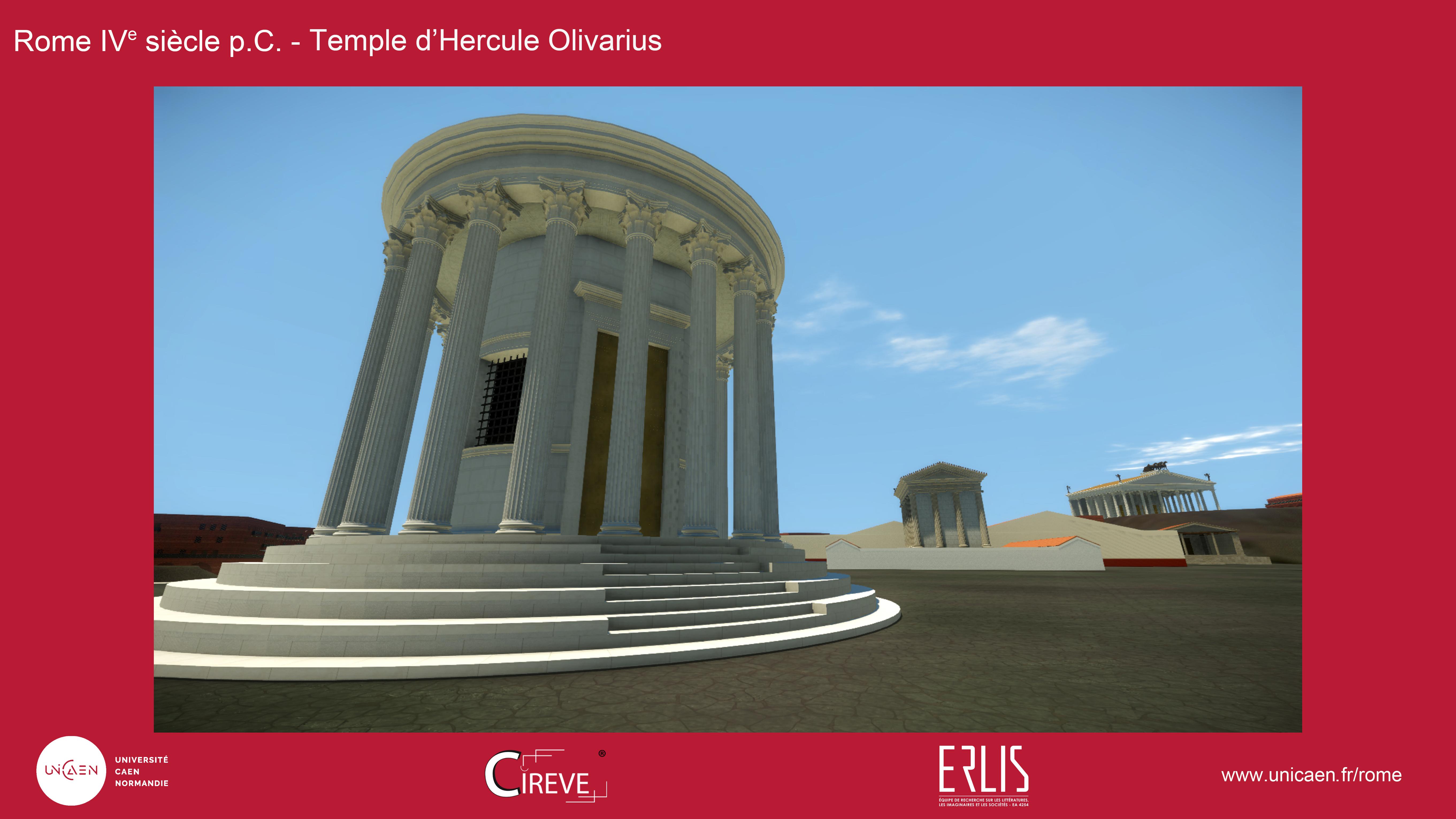Temple d'Hercule Olivarius