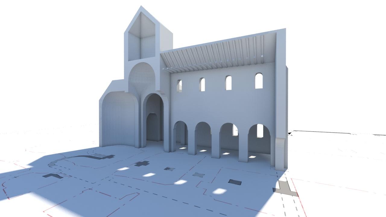 Eglise abbatiale gothique