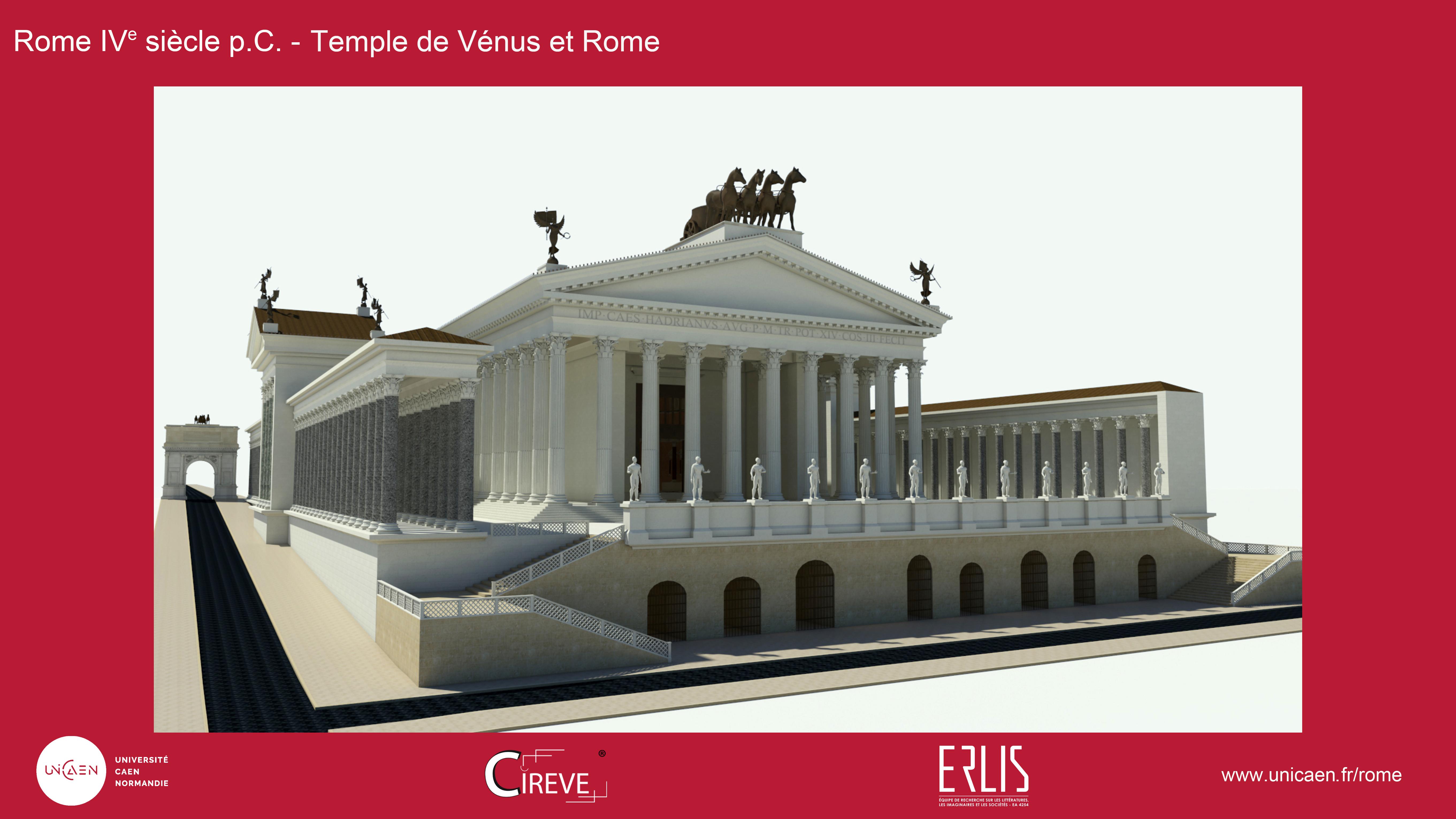 Temple de Vénus et Rome