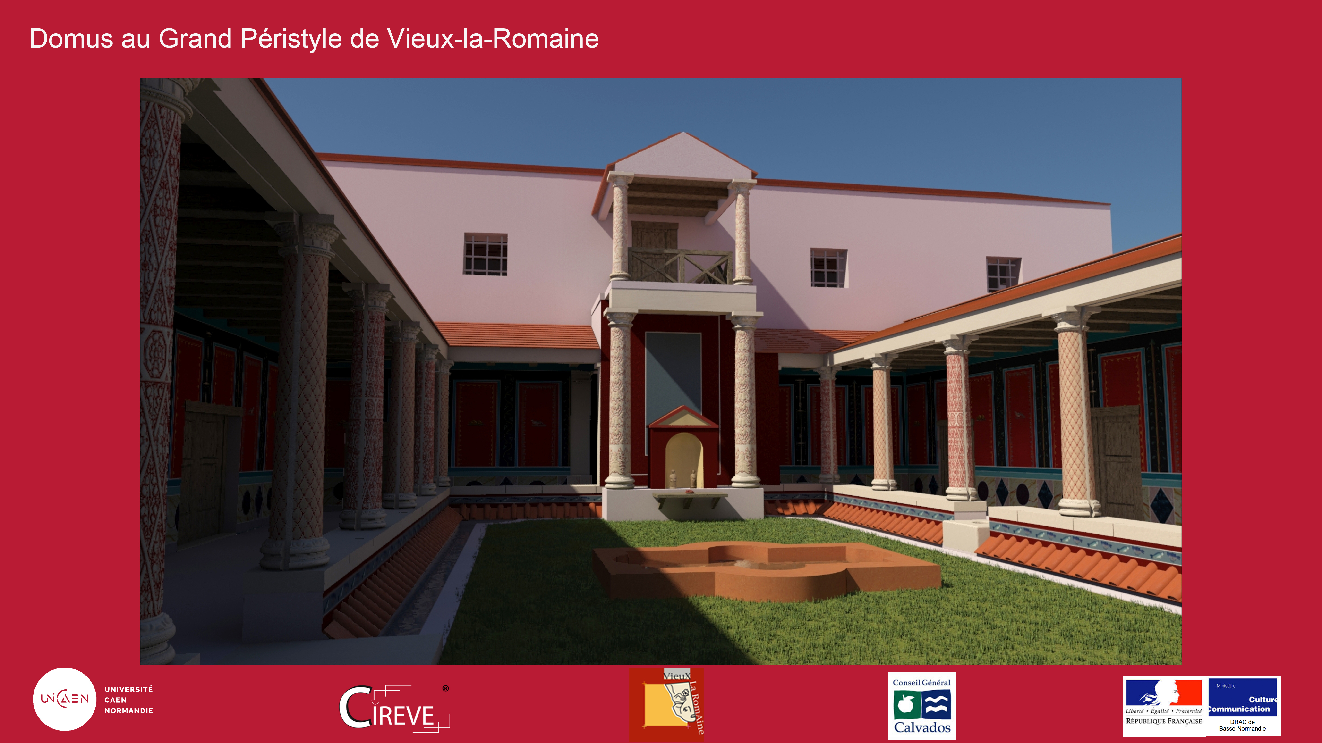 Domus de Vieux-la-Romaine