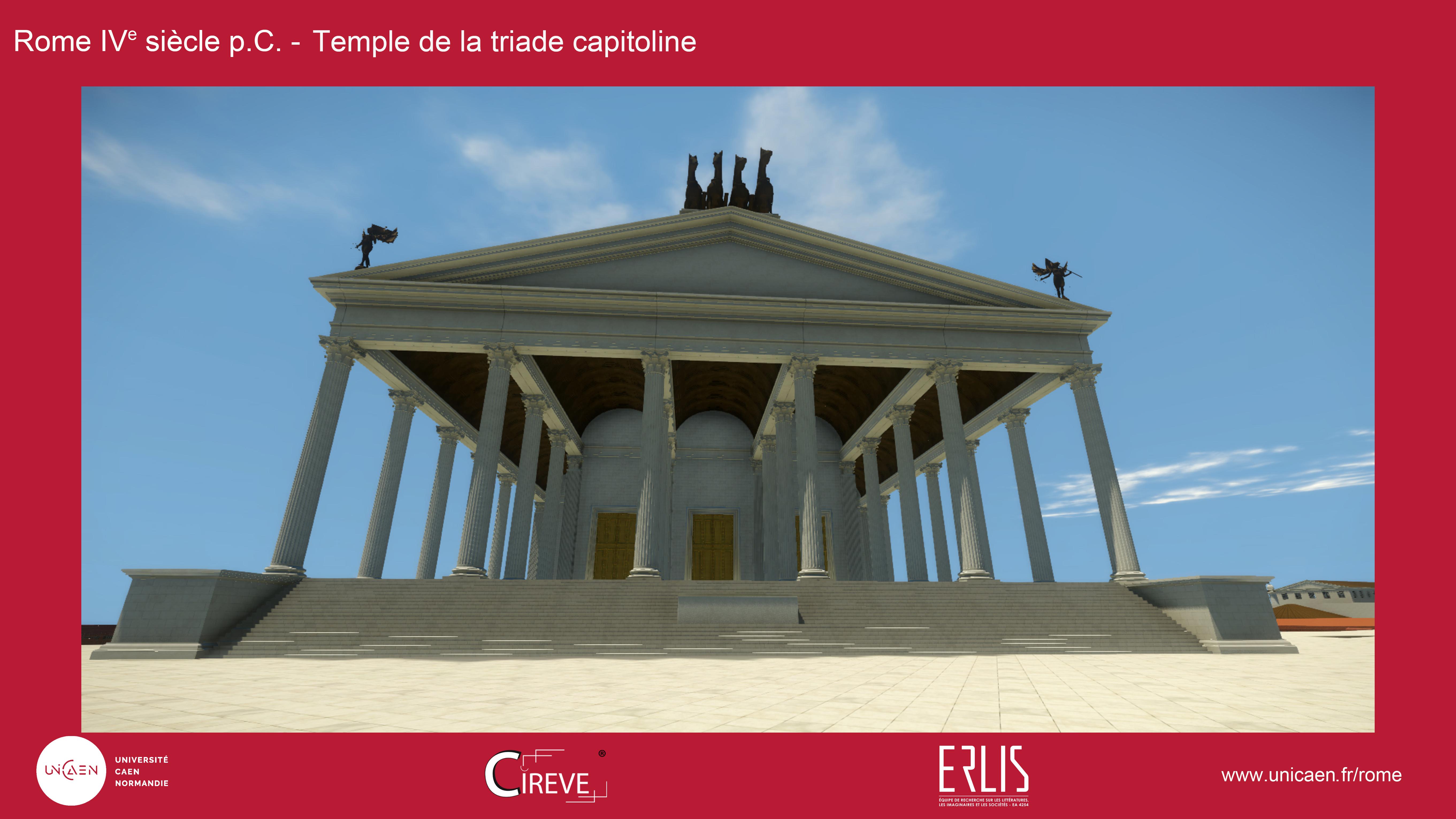 Temple de Jupiter capitolin