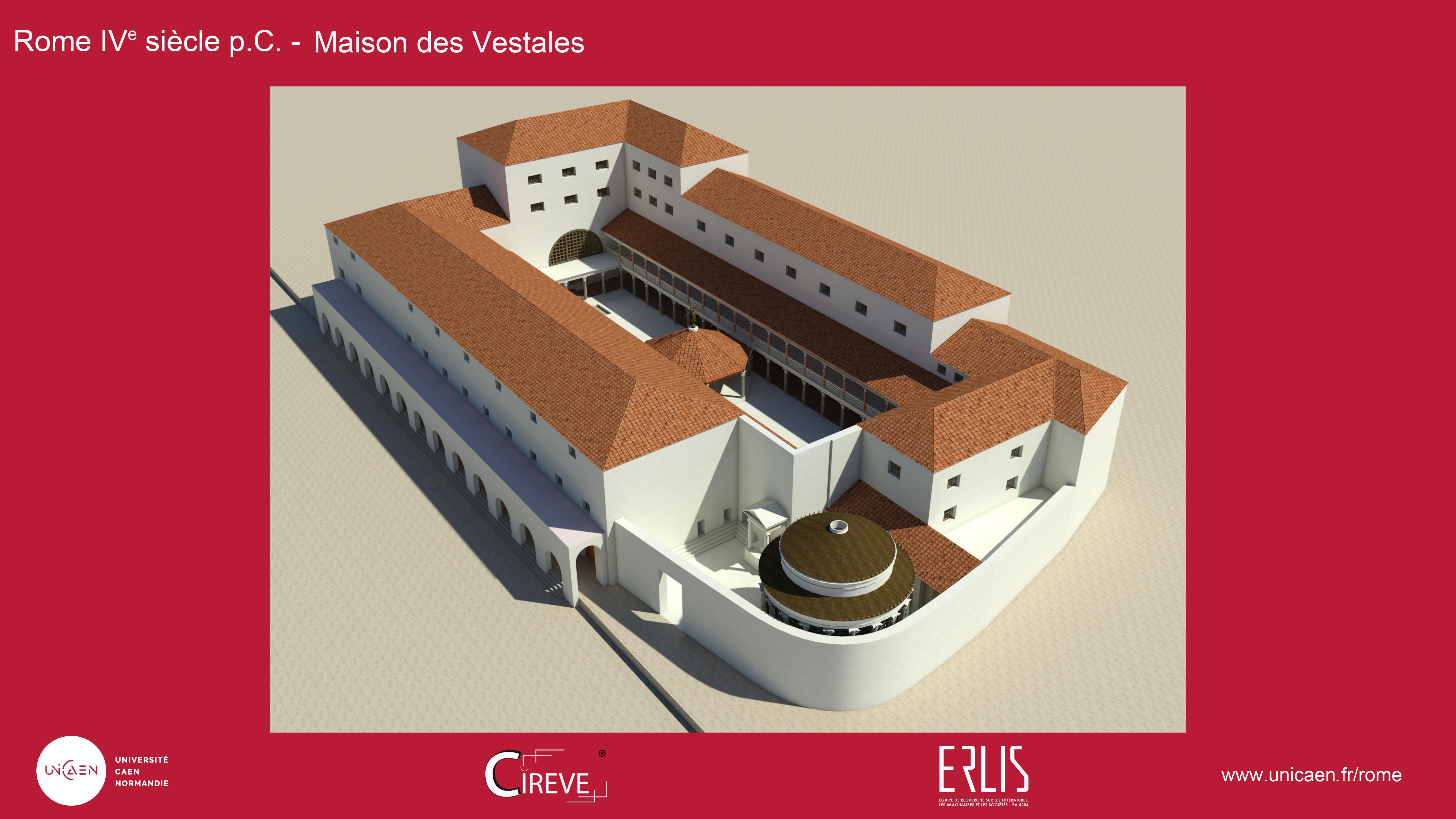 Maison des Vestales