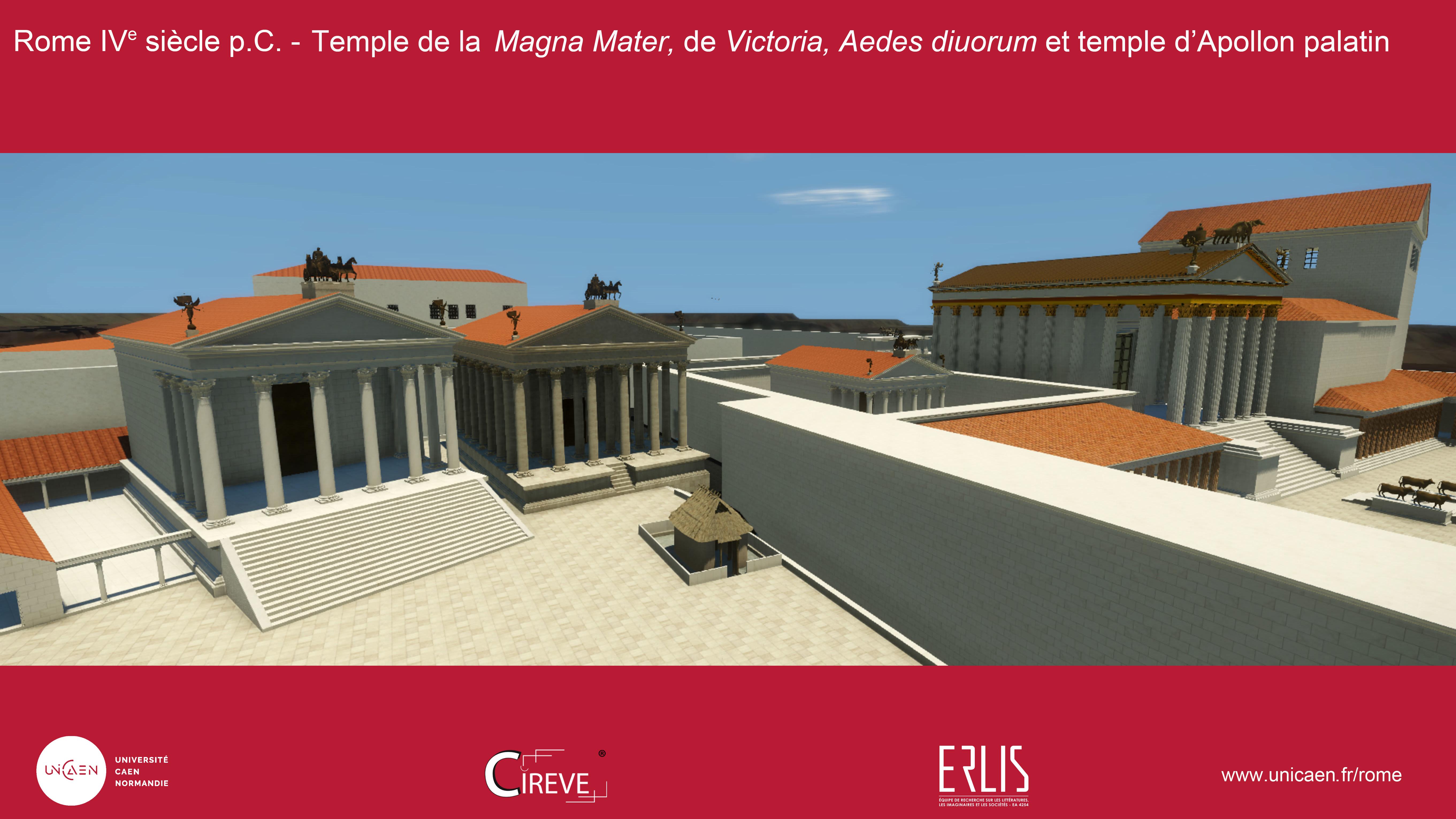 Temple de la Victoire sur le Palatin