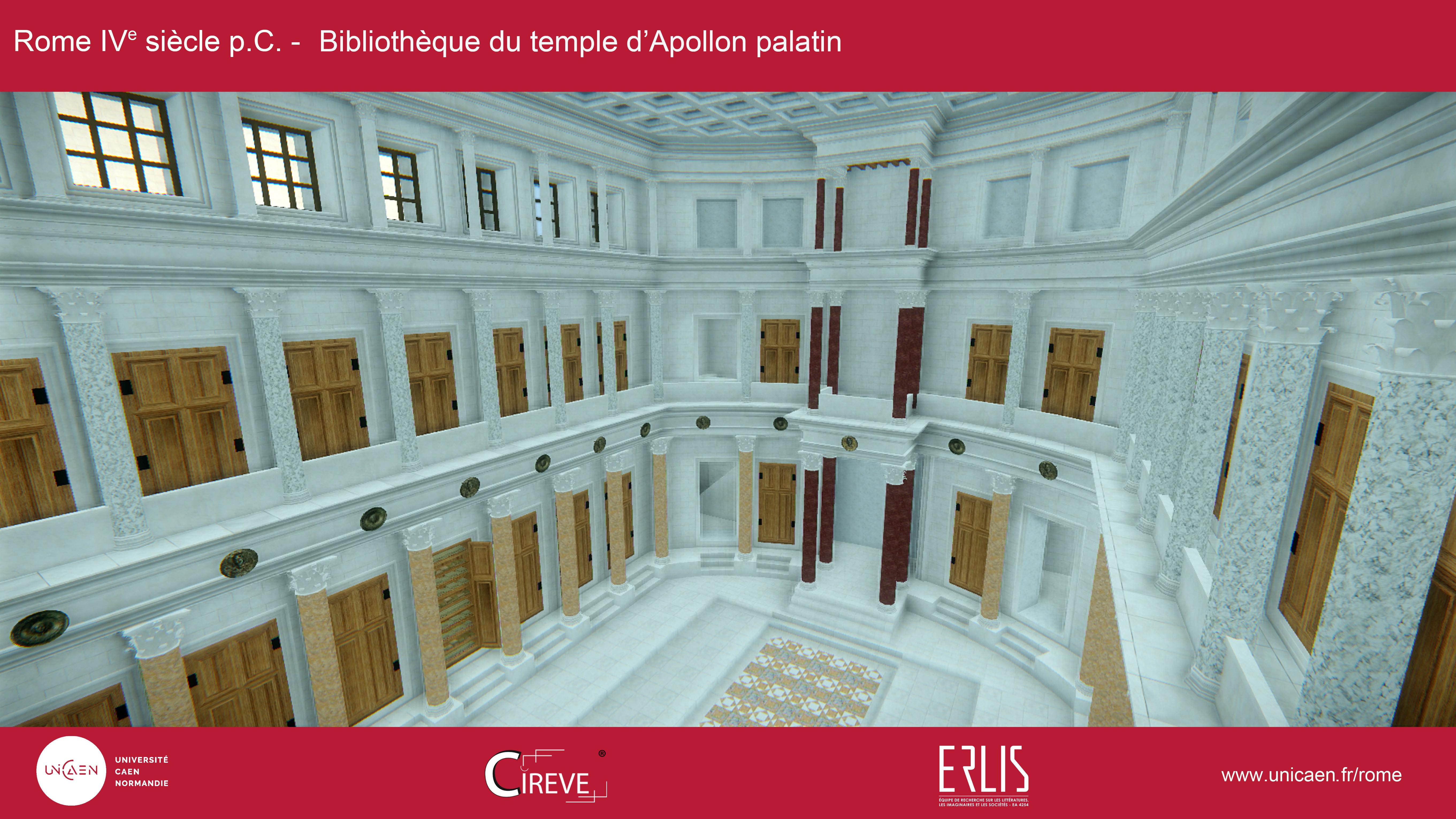 Bibliothèque du temple d'Apollon Palatin