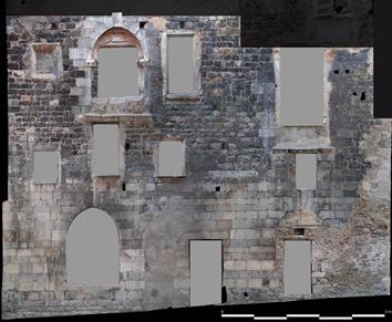 Façade de l'ancien palais de la Viguerie