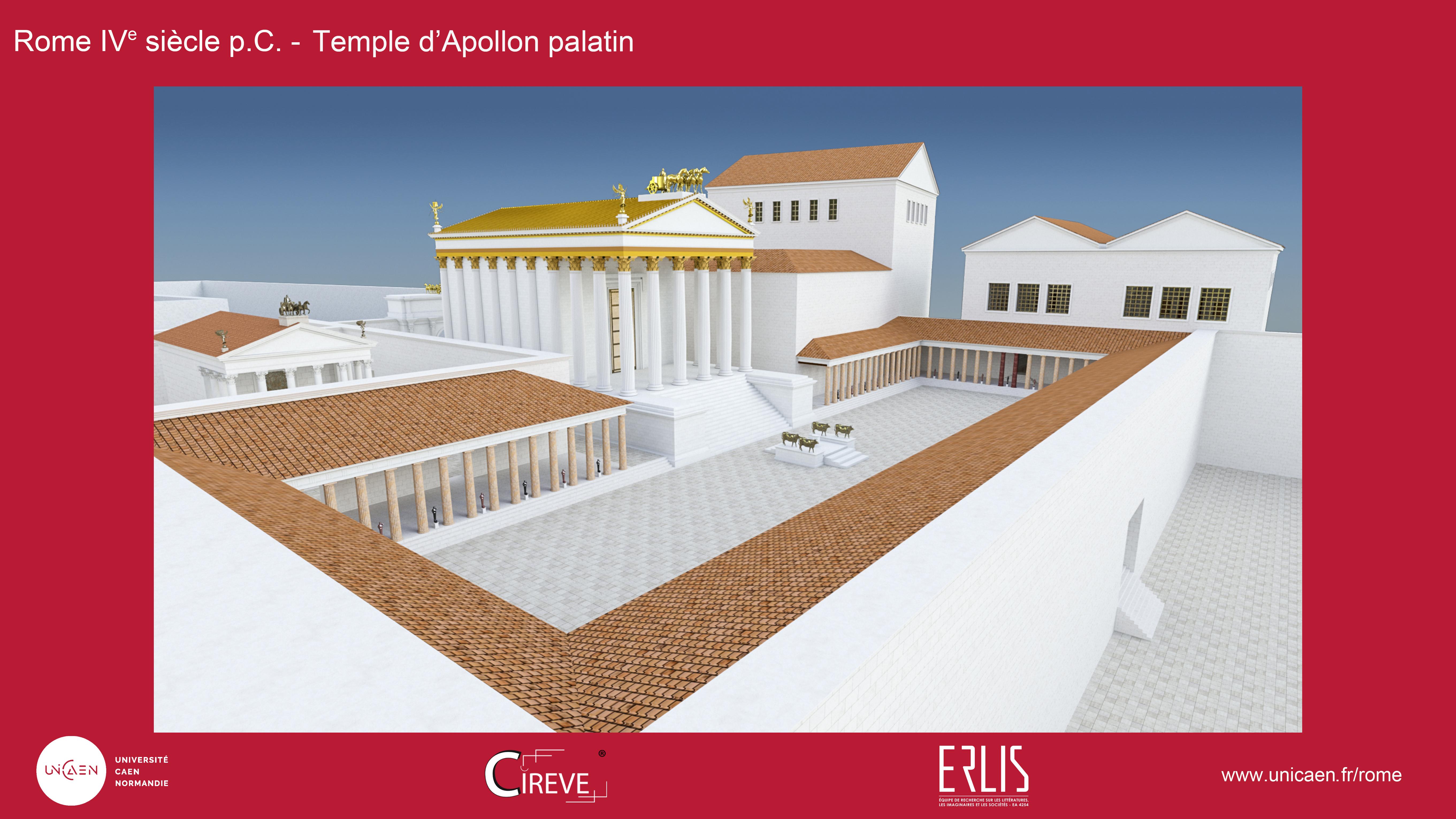 Temple d'Apollon palatin