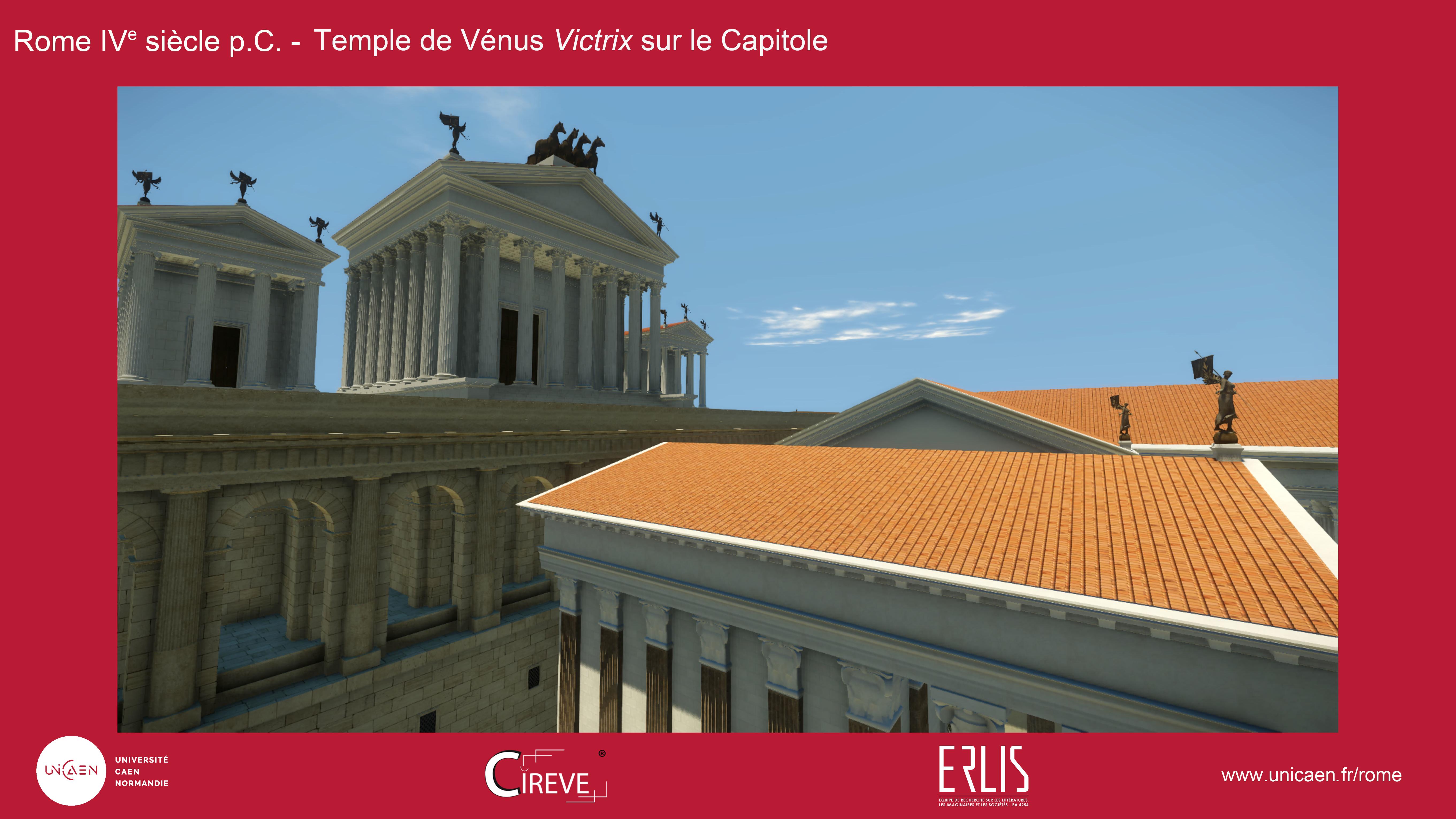 Temple de Vénus Victrix sur le Capitole