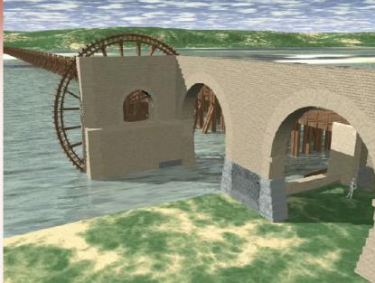 Pont et Noria