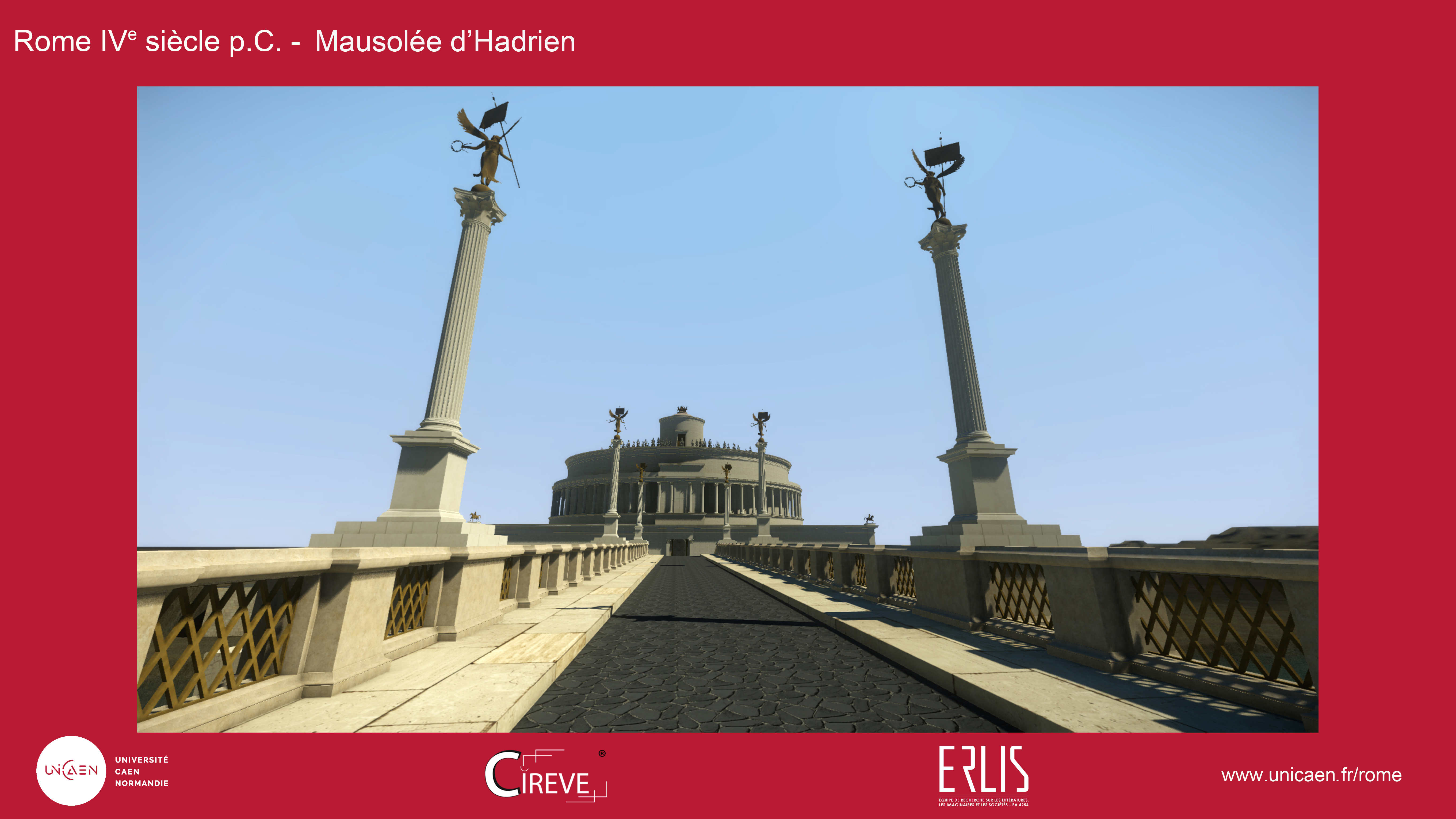Mausolée d'Hadrien et pont Aelius