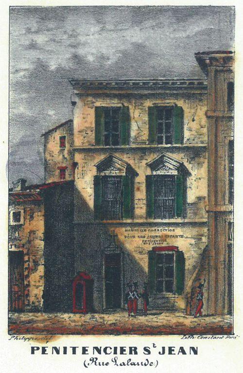 Fig. 7. Maison de correction pour jeunes enfants, Pénitencier Saint-Jean à Bordeaux rue Lalande (©Collection privée de Mme Lambert).