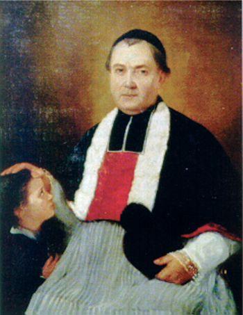 Fig. 10. L'abbé Pierre Buchou (1823-1886) (Source : Centre Généalogique du Sud-Ouest).
